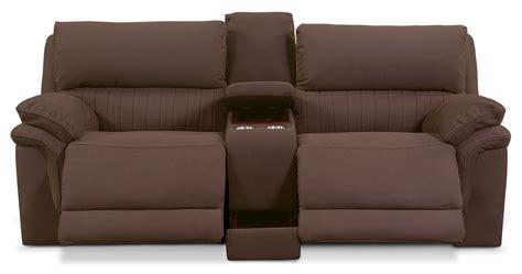 monterey 3 power reclining sofa mocha monterey 3 power reclining sofa with console mocha