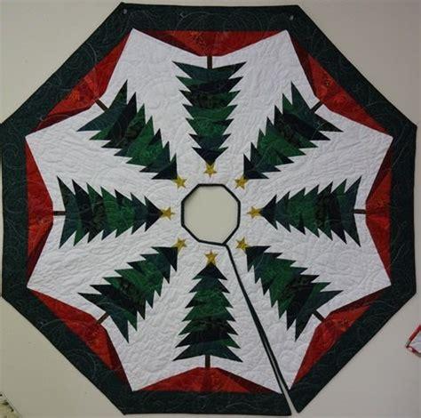 christmas tree cardboard pattern paper pieced christmas tree skirt