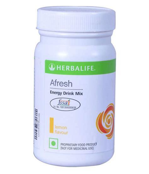 c energy drink mix herbalife afresh energy drink mix lemon flavour 50 gm