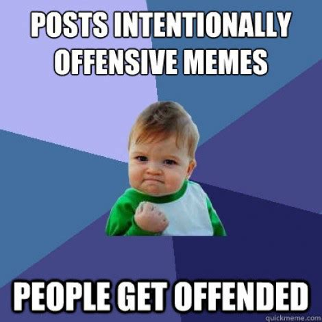 Offensive Memes - behind the laughter all the memes