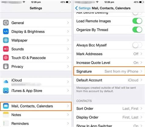 how to change email signature on iphone xs xr x 8 7 6 wondershare pdfelement