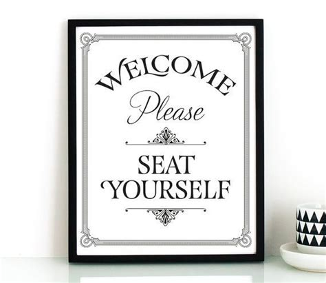 printable bathroom quotes funny bathroom wall art printable please seat yourself