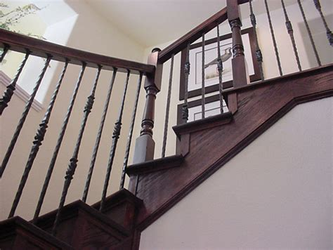 cheap banisters home stair remodel traditional staircase houston