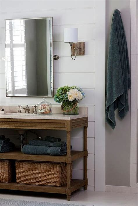 weathered oak bathroom vanity weathered oak vanity with italian crema marble countertop cottage bathroom