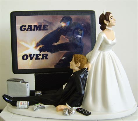 Wedding Cake Toppers Xbox by Junkie Groom Cake Topper Project Wedding