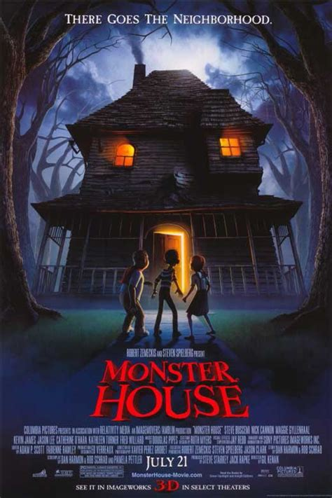 monster house monster house movie posters from movie poster shop