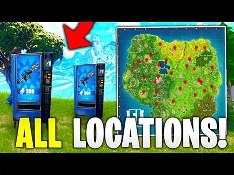 vending machine locations  fortnite battle royale