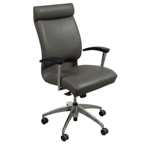 grey leather conference chairs ofs cs2 used high back leather conference chair gray