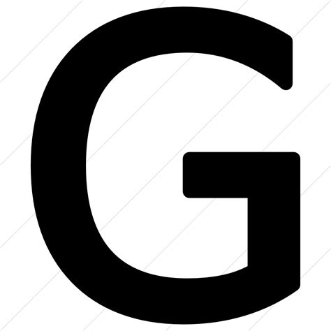 Letter G Icon ? free icons