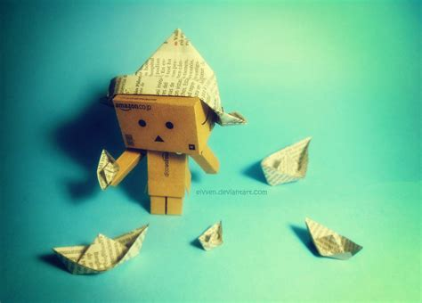 Papercraft Danbo - danbo nostalgia by eivven on deviantart