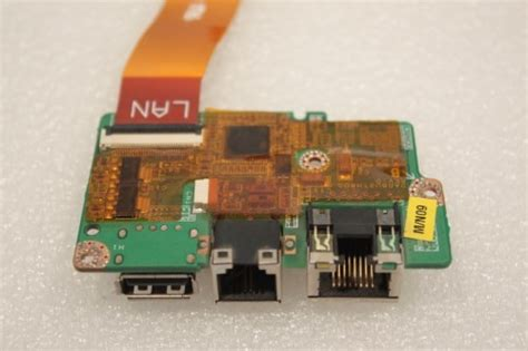 toshiba satellite pro u400 modem ethernet usb port board da0bu2th8d0