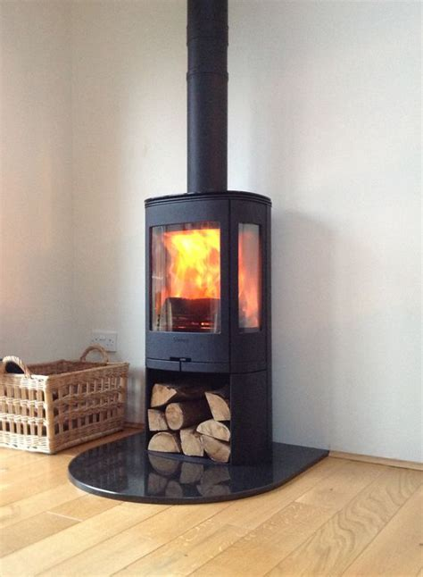 free standing wood burning fireplace free standing contura wood burning contemporary stove