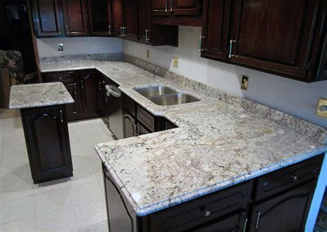 White Springs Granite Countertop white granite