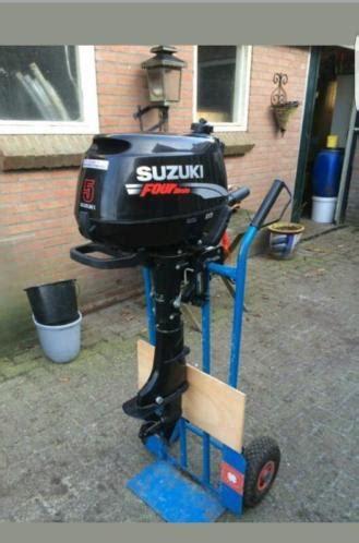 suzuki buitenboordmotor te koop suzuki 5 pk 4 takt kortstaart buitenboordmotor als nieuw
