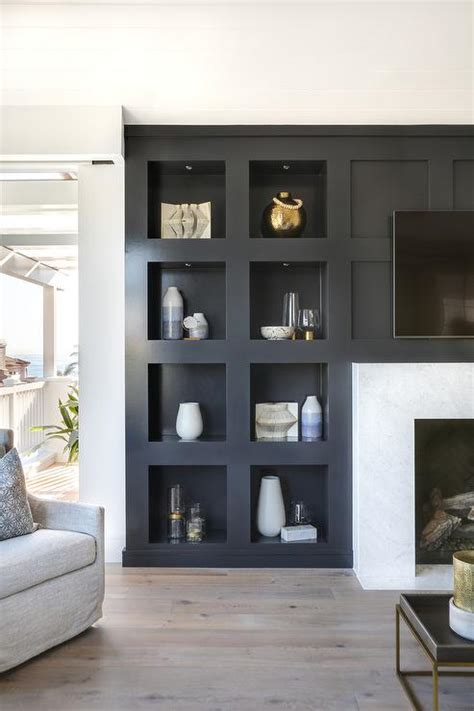 fireplace tv niche design ideas