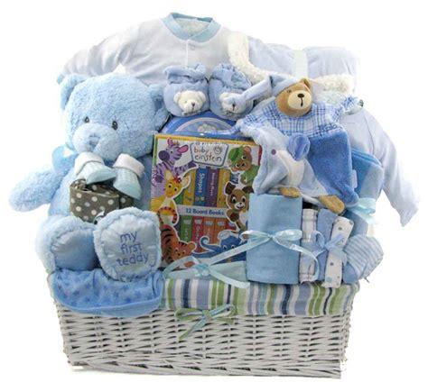Deluxe Baby Boy Gift Basket   Glitter Gift Baskets