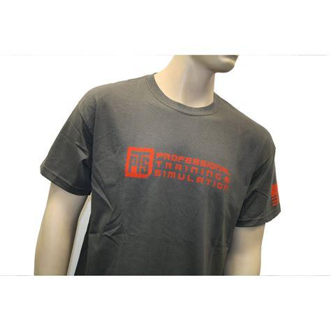 tshirt airsoft europe hitam pts logo t shirt gray