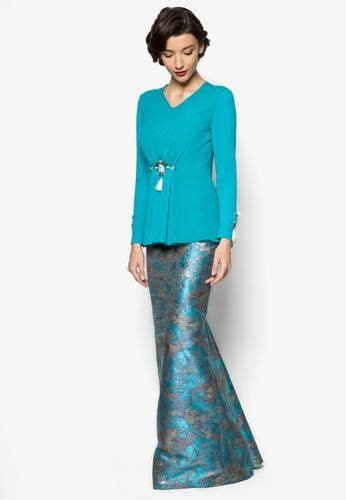 design pakaian online katarina baju kurung from jovian mandagie for zalora in