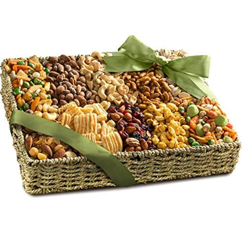 golden state fruit rustic treasures holiday christmas gift basket golden state fruit merry fruit basket with cheese and nuts 5 pound dealsaving