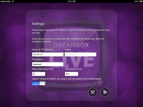 dreambox app for android dreambox live for android