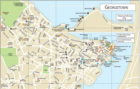 Printable Map Georgetown Penang | image gallery penang map