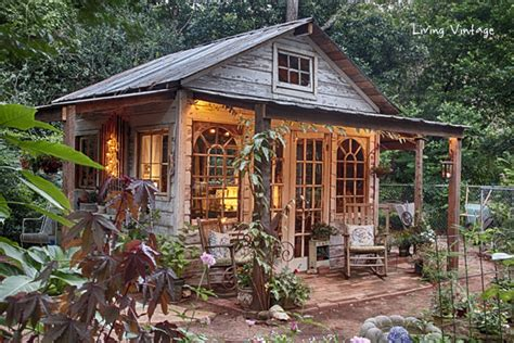Old Farmhouse Floor Plans by Jenny S Garden Shed Revealed Living Vintage