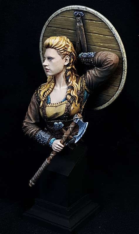 how did lagertha shield maiden die shield maiden lagertha by conny quot inquizarus quot karlsson