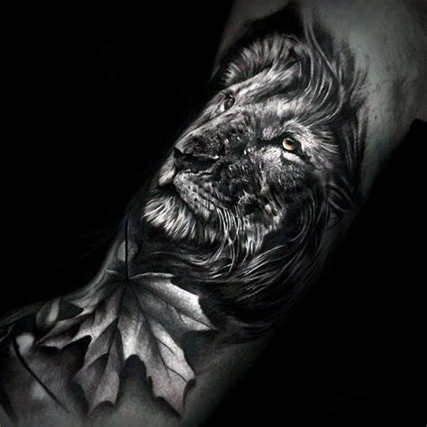 3d lion tattoo designs 50 realistic designs for felidae ink