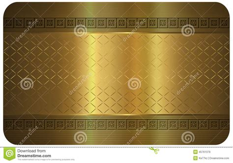 templates for credit card designs gold gold business card stock illustration illustration of