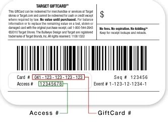 Balance On Target Gift Card - can you use a visa gift card on target com infocard co