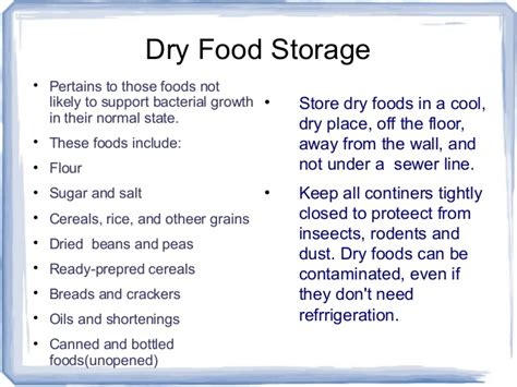 at what temperature should storage rooms be kept keeping food safe in storage