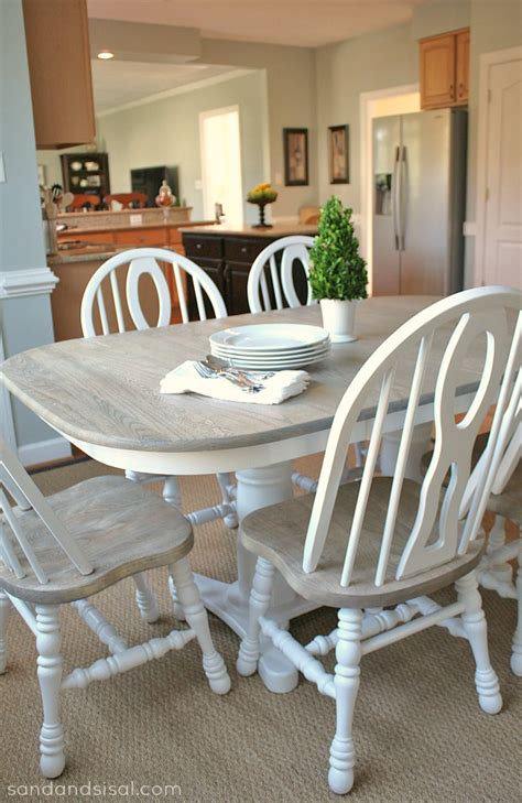 Refinish Kitchen Table Discover Your Decorating Style Sand And Sisal