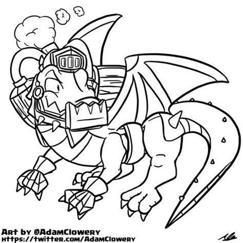 doodle inferno inferno clash royale coloring page pictures to pin