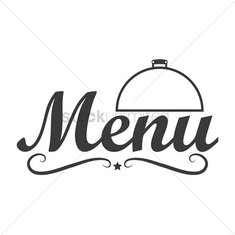 restaurant menu logo icon vector image 1710137