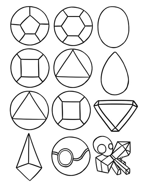 printable coloring pages gemstones o the worlds catalog of ideas gem coloring