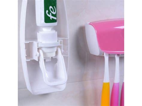 Promo Dispenser Odol Dan Sikat Gigi tempat penyimpanan sikat gigi dan odol automatic