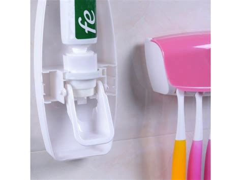 Set Sikat Gigi Elektrik Keluarga Promo tempat penyimpanan sikat gigi dan odol automatic toothpaste dispenser 2 jadi store