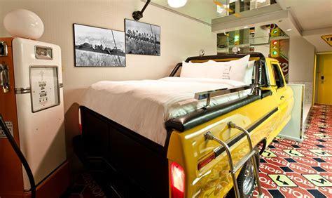 truck room truck theme fantasyland hotel