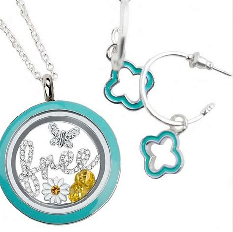 Origami Owl Earrings - origami owl jewelry living lockets