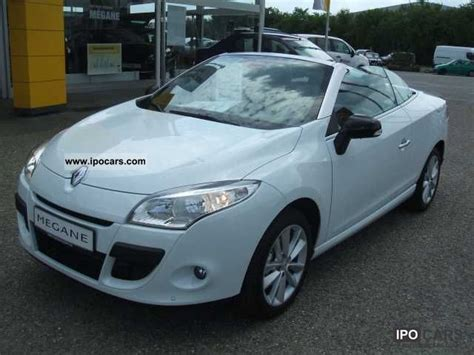 2010 Renault Megane Coupe Cabriolet 130 Tce Luxe Car