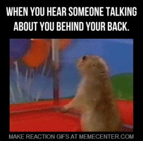 talking behind someones back quotes