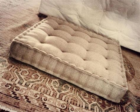 tufted seat cushion tutorial 17 best images about mattress cushions on