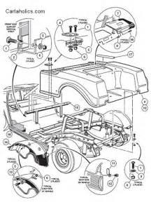 cartaholics golf cart forum gt club car ds body diagrams