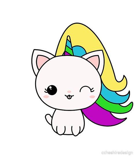 imagenes de gatos unicornios p 243 sters 171 unicat unicornio kawaii cat 187 de ccheshiredesign