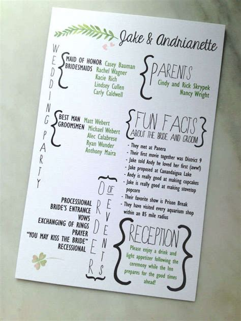 programs like section 8 best 25 fan wedding programs ideas only on pinterest