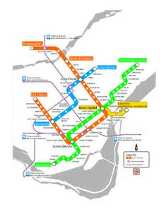 canada metro map travel map travelquaz