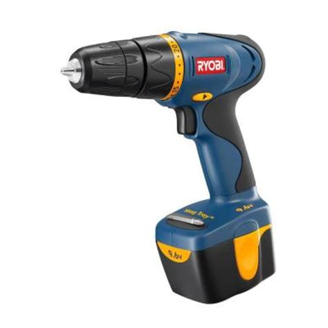 ryobi reconditioned 9 6 volt cordless drill kit zrhp696