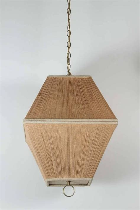 String Chandelier String Shaded Lantern Style Chandelier Or Pendant At 1stdibs