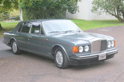 white bentley sedan 1989 bentley mulsanne s sedan 4 door 6 8l for sale