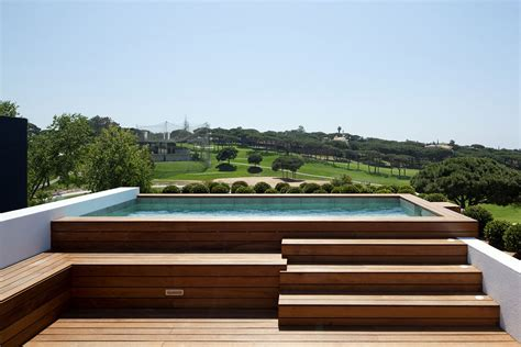 Luxury Home Interior Designs by Jacuzzi Modern Home With A Unique Suspended Pool In Portugal